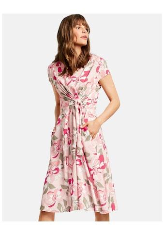 Taifun Kleid Langarm kurz »Kleid mit Blumen - Print« kaufen