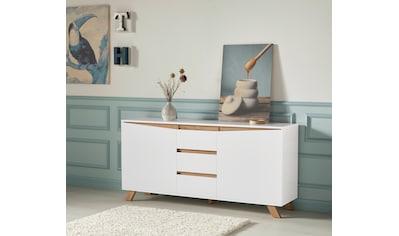 Homexperts Sideboard »Vicky«, Breite 160 cm oder 180 cm, in matt weiss kaufen
