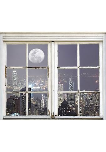 queence Wandsticker »New York City bei Nacht« kaufen