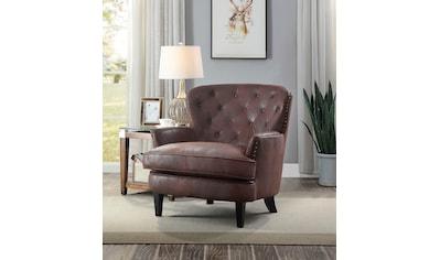 ATLANTIC home collection Sessel, mit Taschenfederkern kaufen