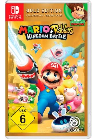 Mario & Rabbids Kingdom Battle Goldfarben Edition Nintendo Switch kaufen
