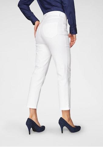 MAC Gerade Jeans »Melanie Glam«, Besonderer Glitzer-Nieten Besatz kaufen