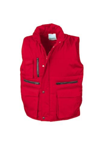 Result Steppweste »Herren Lance Bodywarmer / Weste mit zahlreichen Taschen, winddicht, wasserabweisend« kaufen