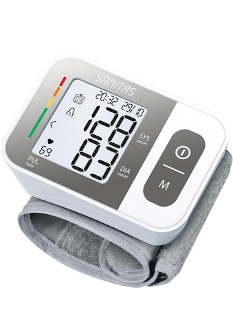 Handgelenk-Blutdruck-Messgerät mit Warnfunktion bei eventuellen Herzrhythmusstörungen kaufen