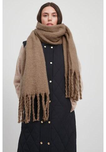Ichi Strickschal »IABREW SC 20112665«, Weicher Schal mit Fransen kaufen