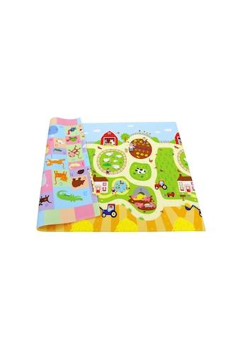 Spielmatte, BABY CARE, »Busy Farm, 210 x 140 cm« kaufen