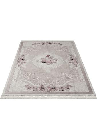 merinos Teppich »Sunshine 1055«, rechteckig, 3 mm Höhe, Besonders weich durch... kaufen