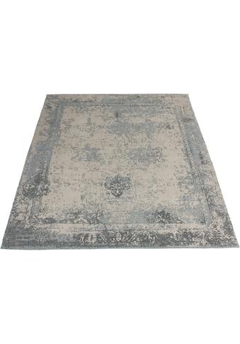 Home affaire Teppich »Bosco«, rechteckig, 10 mm Höhe, Vintage Design, Wohnzimmer kaufen
