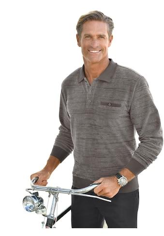 Catamaran Langarm - Poloshirt mit graphischem Muster kaufen