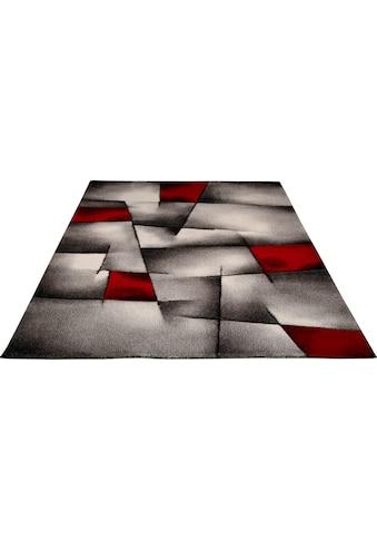 merinos Teppich »BRILLIANCE«, rechteckig, 13 mm Höhe, handgearbeiteter Konturenschnitt, Wohnzimmer kaufen