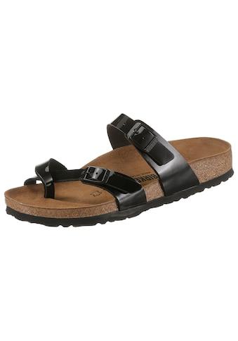 Birkenstock Pantolette »MAYARI«, in normaler Schuhweite kaufen