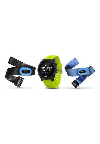 Garmin Fitnessuhr »GPS-Sportuhr Forerunner 935 Bundle Tri Gelb Schwarz«, ( ) kaufen