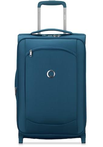 Delsey Weichgepäck-Trolley »Montmartre Air 2.0, 55 cm, blue«, 4 Rollen, mit Volumenerweiterung kaufen