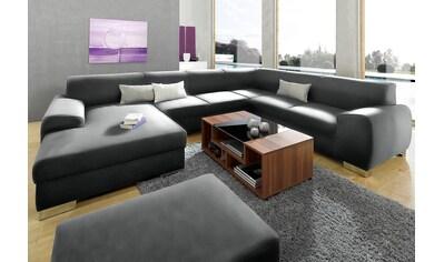 DOMO collection Wohnlandschaft »Ricardo«, wahlweise mit Bettfunktion, frei im Raum... kaufen