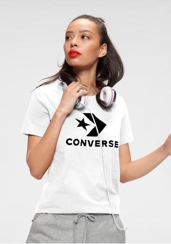 Converse T-Shirt »STAR CHEVRON CENTER FRONT TEE« kaufen