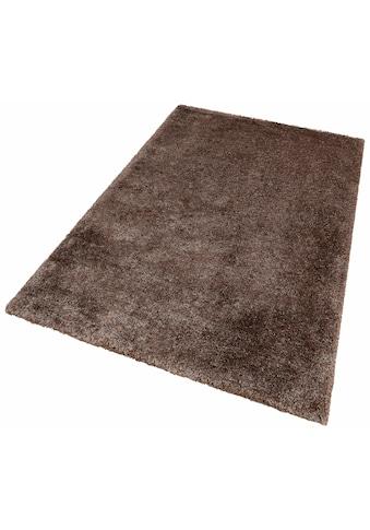 Hochflor - Teppich, »Monaco«, LALEE, rechteckig, Höhe 65 mm, handgewebt kaufen
