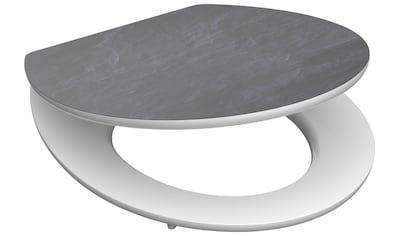 SCHÜTTE WC - Sitz »MDF WC -  Sitz mit Holzkern und Absenkautomatik High Gloss Dekor« kaufen