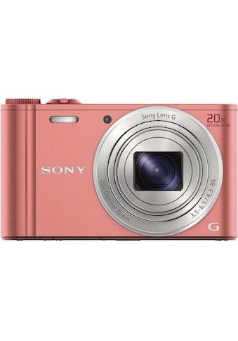 Sony Kompaktkamera »DSC-WX350P Pink« kaufen
