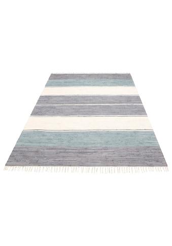 Teppich, »Paula«, Lüttenhütt, rechteckig, Höhe 5 mm, handgewebt kaufen