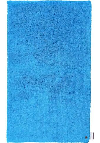 Badematte »Cotton Double Uni«, TOM TAILOR, Höhe 20 mm, beidseitig nutzbar fussbodenheizungsgeeignet strapazierfähig kaufen