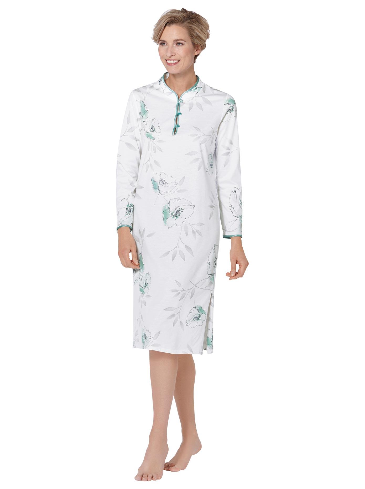 Image of Arabella Nachthemd in floralen Dessin