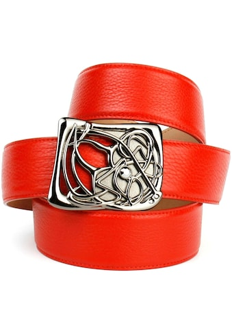 Anthoni Crown Ledergürtel, mit Designer-Schliesse kaufen