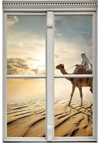 queence Wandsticker »Kamel in der Wüste« kaufen