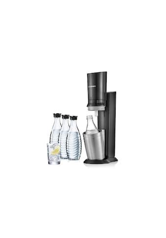 SodaStream Wassersprudler »CRYSTAL Megapack Schwarz« kaufen