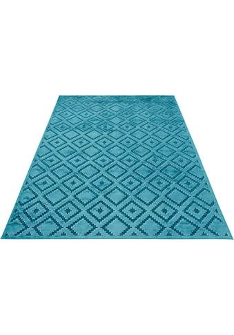 Teppich, »Iris«, MINT RUGS, rechteckig, Höhe 4 mm, maschinell gewebt kaufen