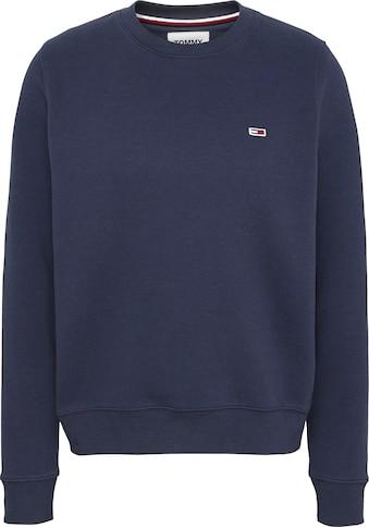 Tommy Jeans Sweatshirt »TJW REGULAR FLEECE C NECK«, mitTommy Jeans Logo-Flag auf der... kaufen
