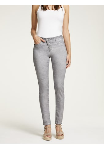 LINEA TESINI by Heine Push-up-Jeans, im Used-Look kaufen