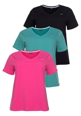 H.I.S T-Shirt »Essential-Basics«, Grosse Grössen kaufen