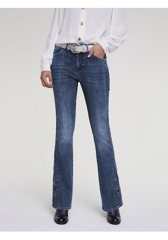 LINEA TESINI by Heine Bootcut-Jeans, mit Stickerei kaufen