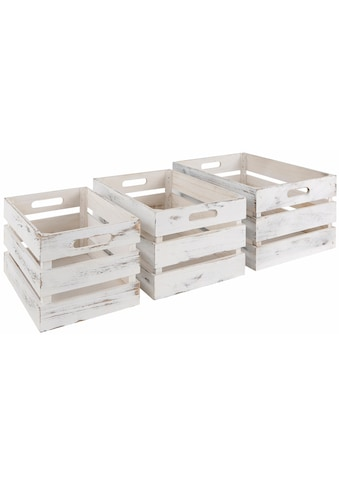 Zeller Present Kiste, (3er Set) kaufen