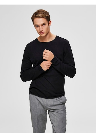 SELECTED HOMME Rundhalspullover »DOME CREW NECK« kaufen