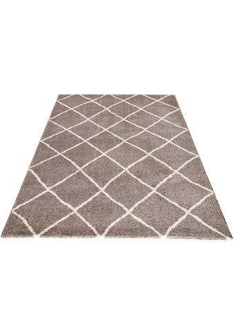 MINT RUGS Teppich »Diva«, rechteckig, 20 mm Höhe, Allover Design, Wohnzimmer kaufen