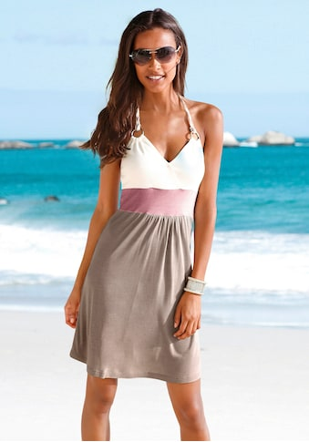 Beachtime Strandkleid, mit Color-Blocking-Optik kaufen
