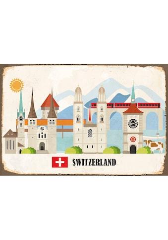 queence Metallbild »Mirinda«, Schweiz, (1 St.) kaufen