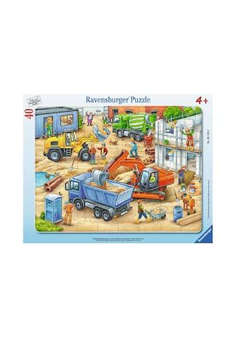 Ravensburger Puzzle »Grosse Baustellenfahrzeuge« kaufen