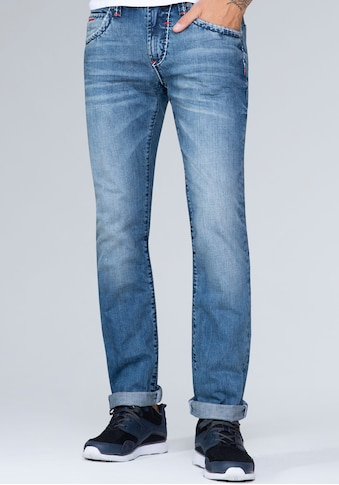 CAMP DAVID 5-Pocket-Jeans, mit authentischer Waschung kaufen