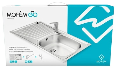 MOFÉM Küchenspüle »Eco 1B1D«, mit Junior - Spültischarmatur kaufen