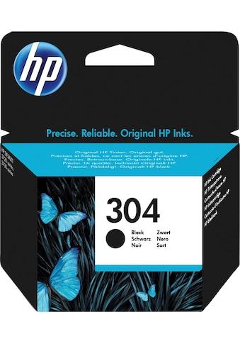 HP Tintenpatrone »hp 304 Druckerpatrone N9K05AE schwarz« kaufen