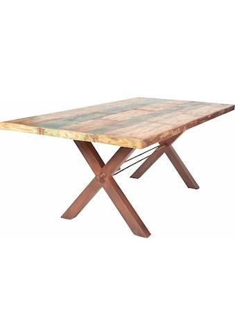 SIT Esstisch »Tops«, aus recyceltem Altholz kaufen
