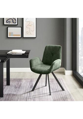 INOSIGN Esszimmerstuhl »Elif«, 2er-Set, Sitz und Rücken gepolstert, in 3 verschiedenen Farben kaufen