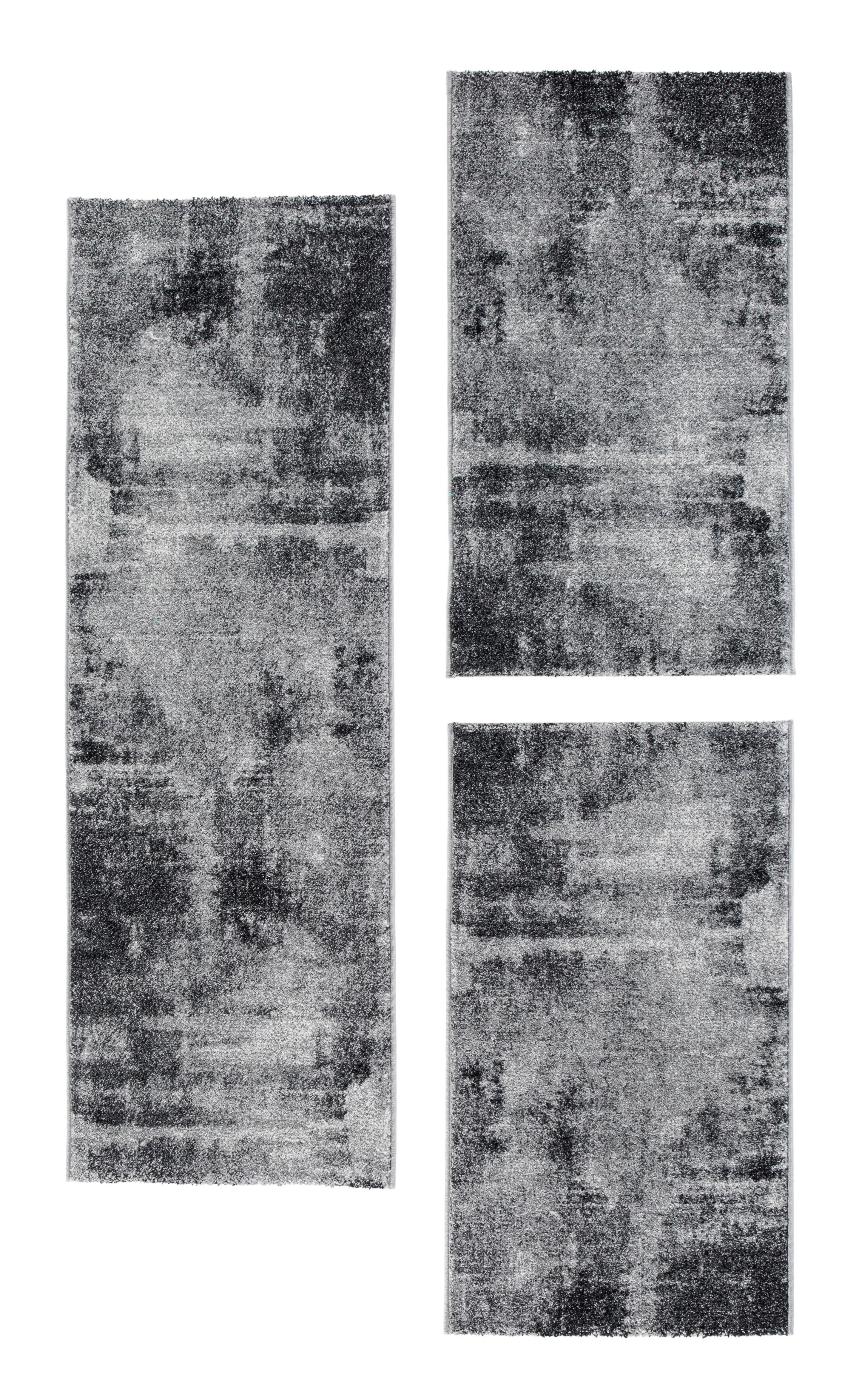 Image of Andiamo Bettumrandung »Luna«, Bettvorleger, Läufer-Set für das Schlafzimmer, Kurzflor, gewebt
