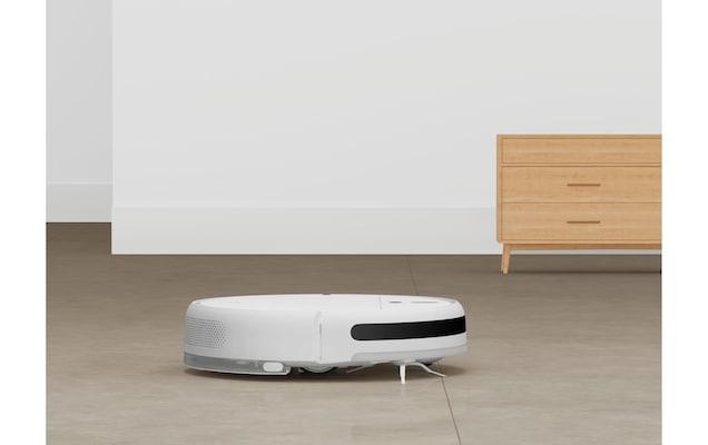 Saugroboter in Weiß