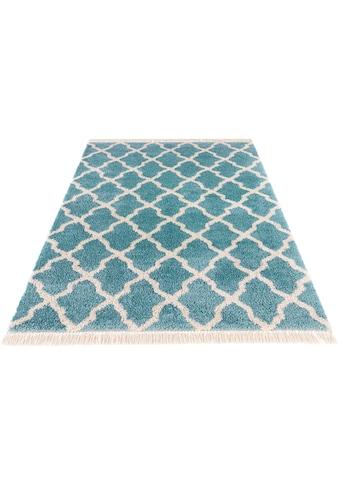 MINT RUGS Hochflor-Teppich »Pearl«, rechteckig, 35 mm Höhe, pastell Farben mit... kaufen