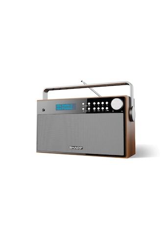 DAB+ Radio, Sharp, »DR - P355 Braun Schwarz« kaufen