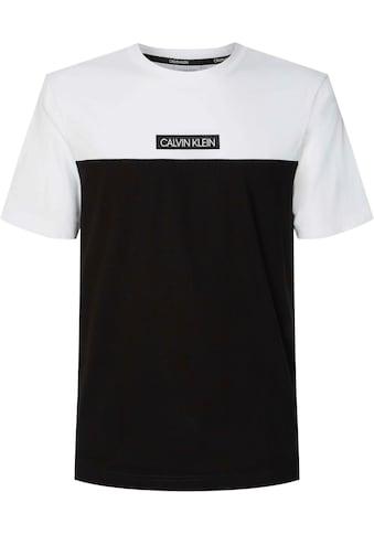 Calvin Klein Big&Tall T - Shirt »BT - COLOR BLOCK T - SHIRT« kaufen