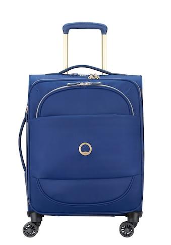 Delsey Weichgepäck-Trolley »Montrouge, 55 cm, Blue«, 4 Rollen kaufen